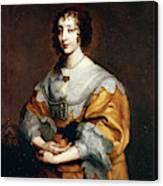 Queen Henrietta Maria Canvas Print