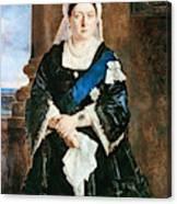 Queen Victoria Of England (1819-1901) Canvas Print