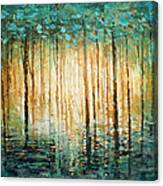 'quiet' Canvas Print