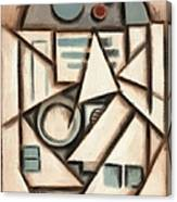 R2 Deco Art Print Canvas Print
