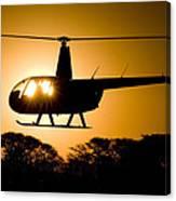 R44 Sunset Canvas Print