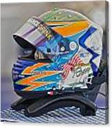 Racing Helmet 2 Canvas Print