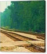Railroad To Nowhere Canvas Print