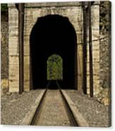 Railroad Tunnel 3 Bnsf 1 B Canvas Print