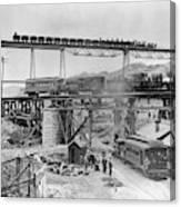 Railroading Construction Canvas Print