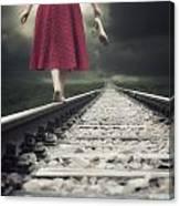 Railway Tracks Canvas Print