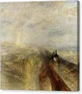 Rain Steam And Speed Canvas Print
