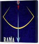 Rama The Avatar Canvas Print