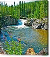 Rancheria Falls-yt Canvas Print