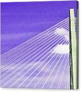 Ravenel Bridge # 2 Canvas Print