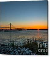 Charleston Sundown Canvas Print
