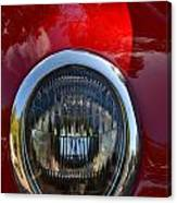 Red Classic Ford Canvas Print