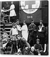 Red Cross, C1918 Canvas Print