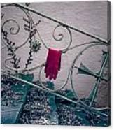 Red Glove Canvas Print