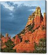 Red Hills 4 Canvas Print
