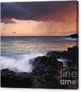 Red Storm Rising Canvas Print