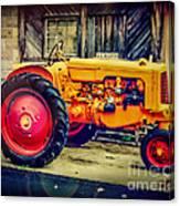 Red Wheels Canvas Print
