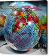 Reflected Globe Canvas Print