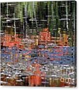 Reflecting Fall Canvas Print