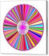 Colorful Signature Art Chakra Round Mandala By Navinjoshi At Fineartamerica.com Rare Fineart Images  Canvas Print