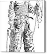 Remington Cowboy, 1887 Canvas Print