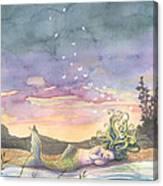 Rest On The Horizon Canvas Print