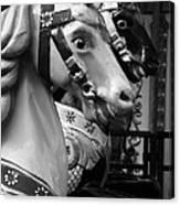 Retro Carousel Canvas Print