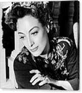 Reunion In France, Joan Crawford, 1942 Canvas Print