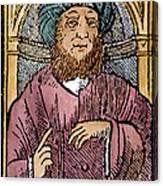 Rhazes (850-923) Canvas Print