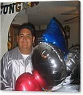 Ricardo Celebrating His High School Graduation Eloy Arizona 2002 Canvas Print
