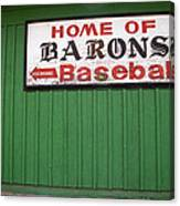 Rickwood Field Canvas Print