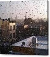 Ridgewood Wet With Rain Canvas Print