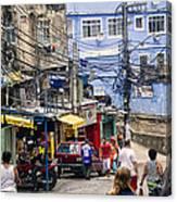 Rio De Janeiro  Brazil - Favela Canvas Print