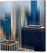 Rising Metropolis Canvas Print