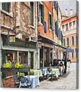 Ristorante Al Covo Impasto Canvas Print