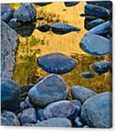 River Of Gold 2 Canvas Print