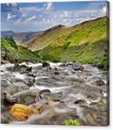 River San Juan  Canvas Print