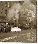 Steam Pumper Rochester Show Case Co. Fire Circa 1890s Canvas Print