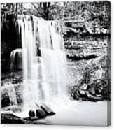Rock Glen Falls Canvas Print