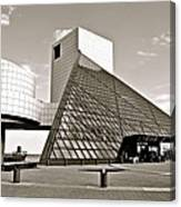 Rock Hall of Fame Canvas Print