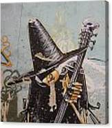 Rocking Witch Canvas Print