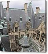 Roof Of Biltmore Estate Canvas Print