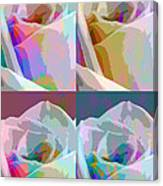Rose Four Canvas Print