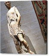 Rossellino's The David Of The Casa Martelli Canvas Print