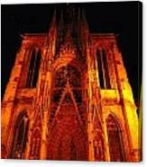 Rouen Church Canvas Print