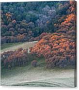 Round Valley Sunrise Canvas Print