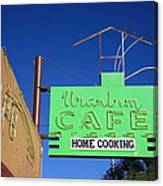 Route 66 - Uranium Cafe Canvas Print