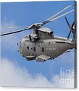Royal Navy Eh-101 Merlin In Flight Canvas Print