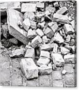 Rubble Canvas Print