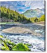 Rushing Valley Canvas Print